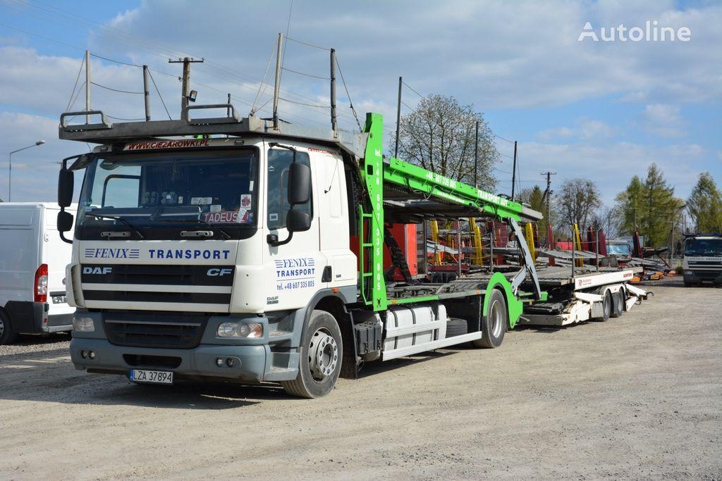 DAF CF 360 Autotransporter + Autotransportanhänger