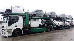 IVECO STRALIS 450 Autotransporter + Autotransportanhänger