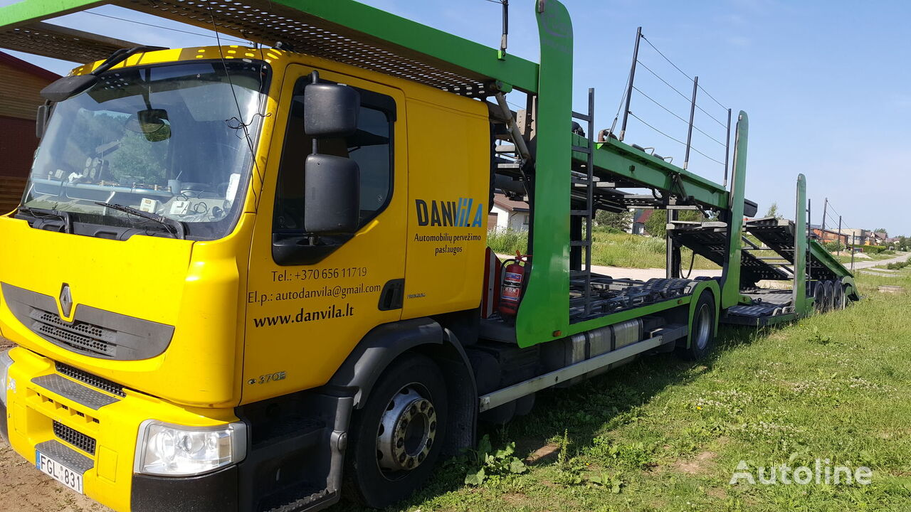 RENAULT Premium 370.18 Euro5 !!! Autotransporter + Autotransportanhänger