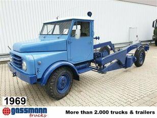 Ruthmann Hubwagen,  AL 28 Containerchassis LKW