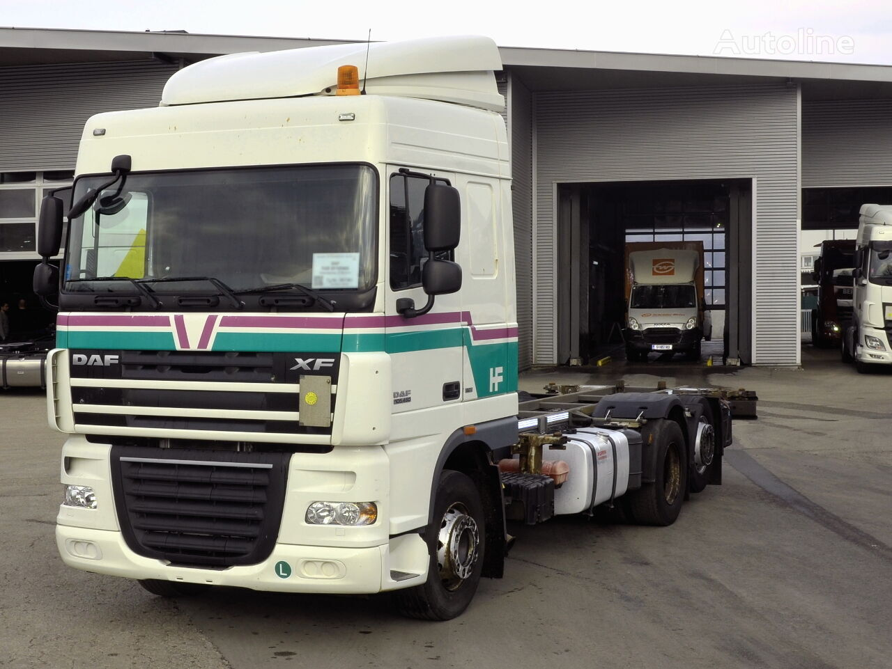DAF FAR XF105460  Containerchassis LKW