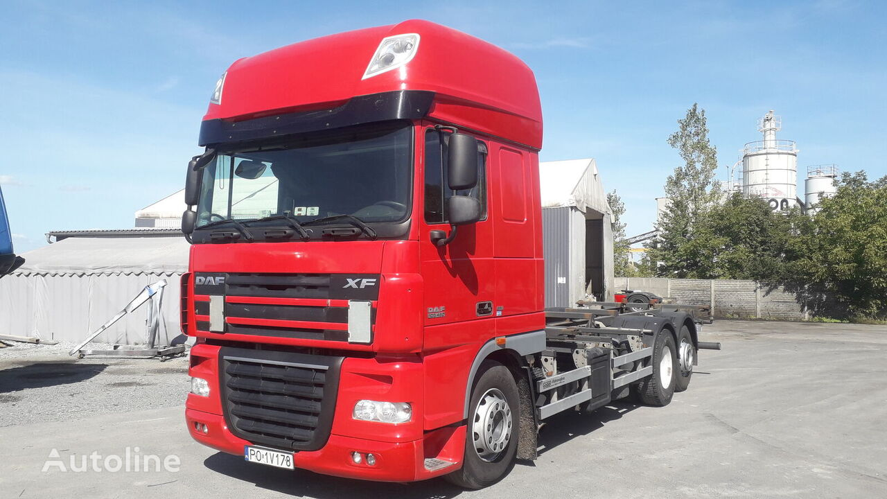 DAF XF 105.460 Containerchassis LKW