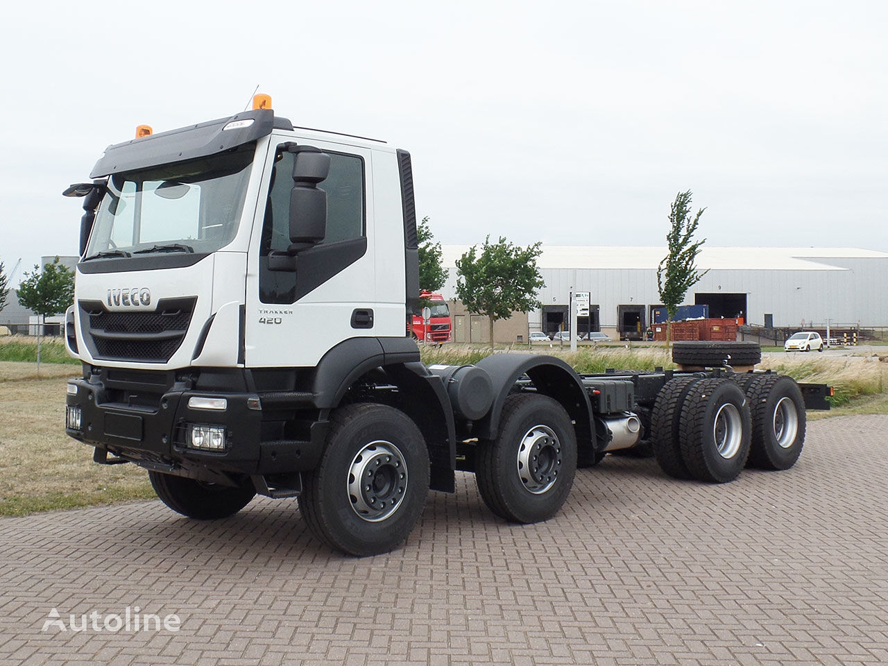 neuer IVECO Trakker AD410T42H 8x4 Chassis cabin Fahrgestell LKW