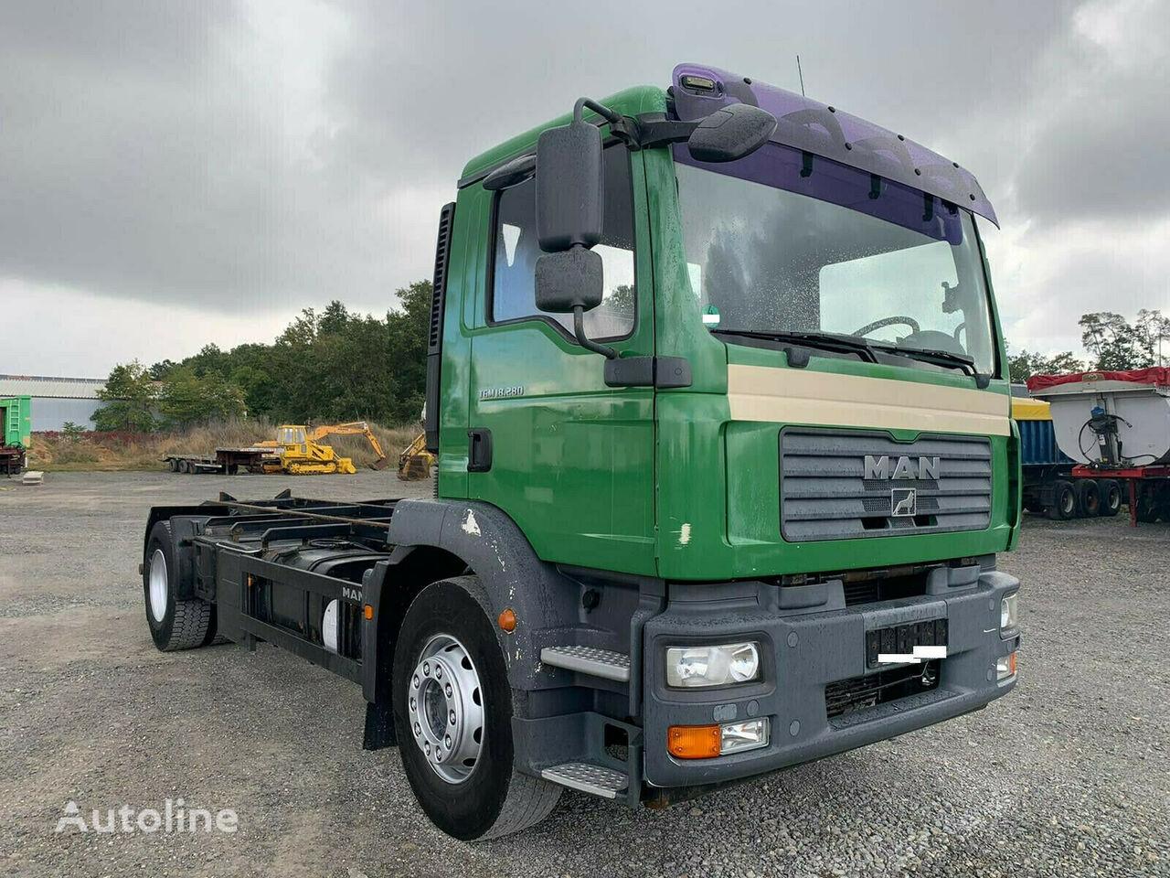 MAN Wechselfahrgestell TGM 18.280 4x2 ATL-Wechselsystem Fahrgestell LKW