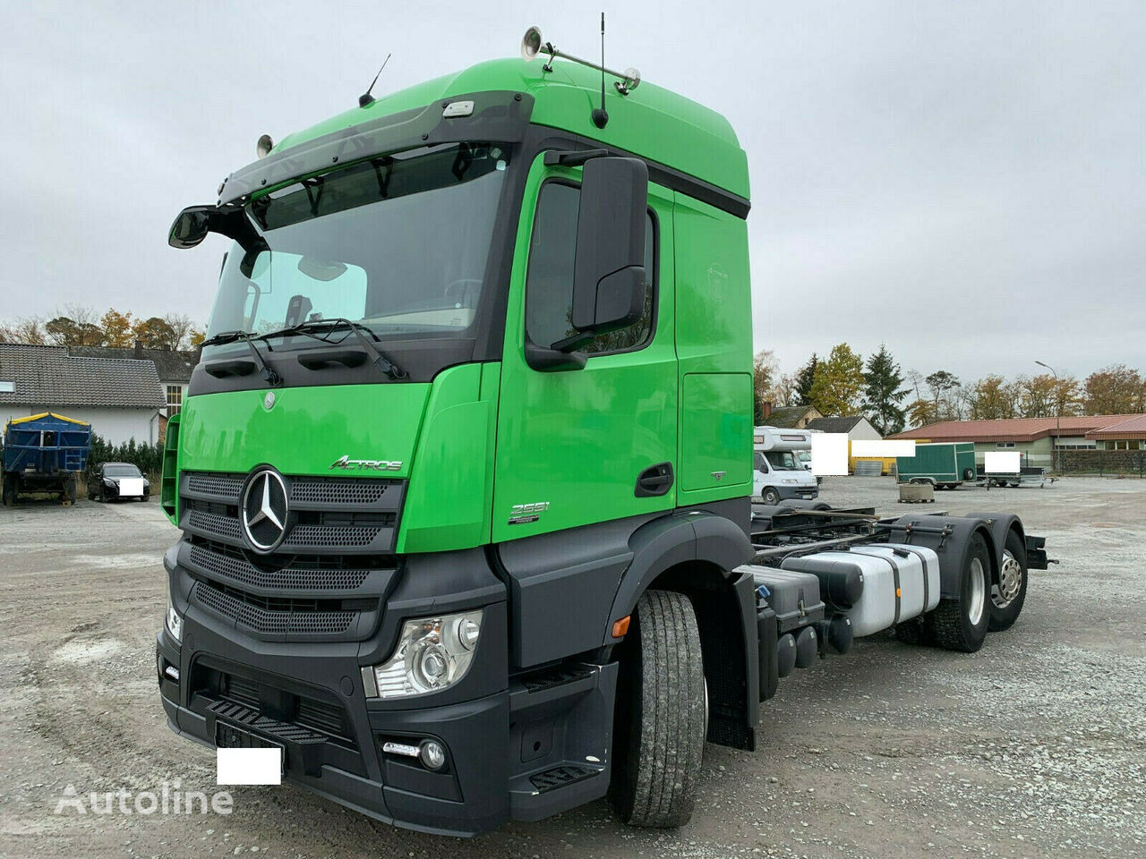MERCEDES-BENZ Actros 2551 Fahrgestell LKW