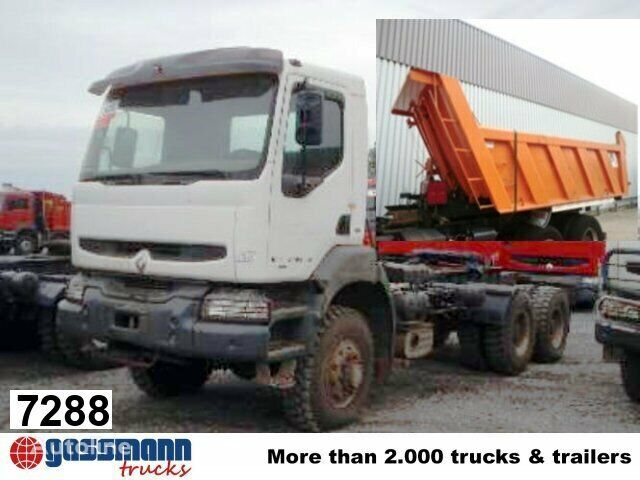 RENAULT Kerax 350.34 Fahrgestell LKW
