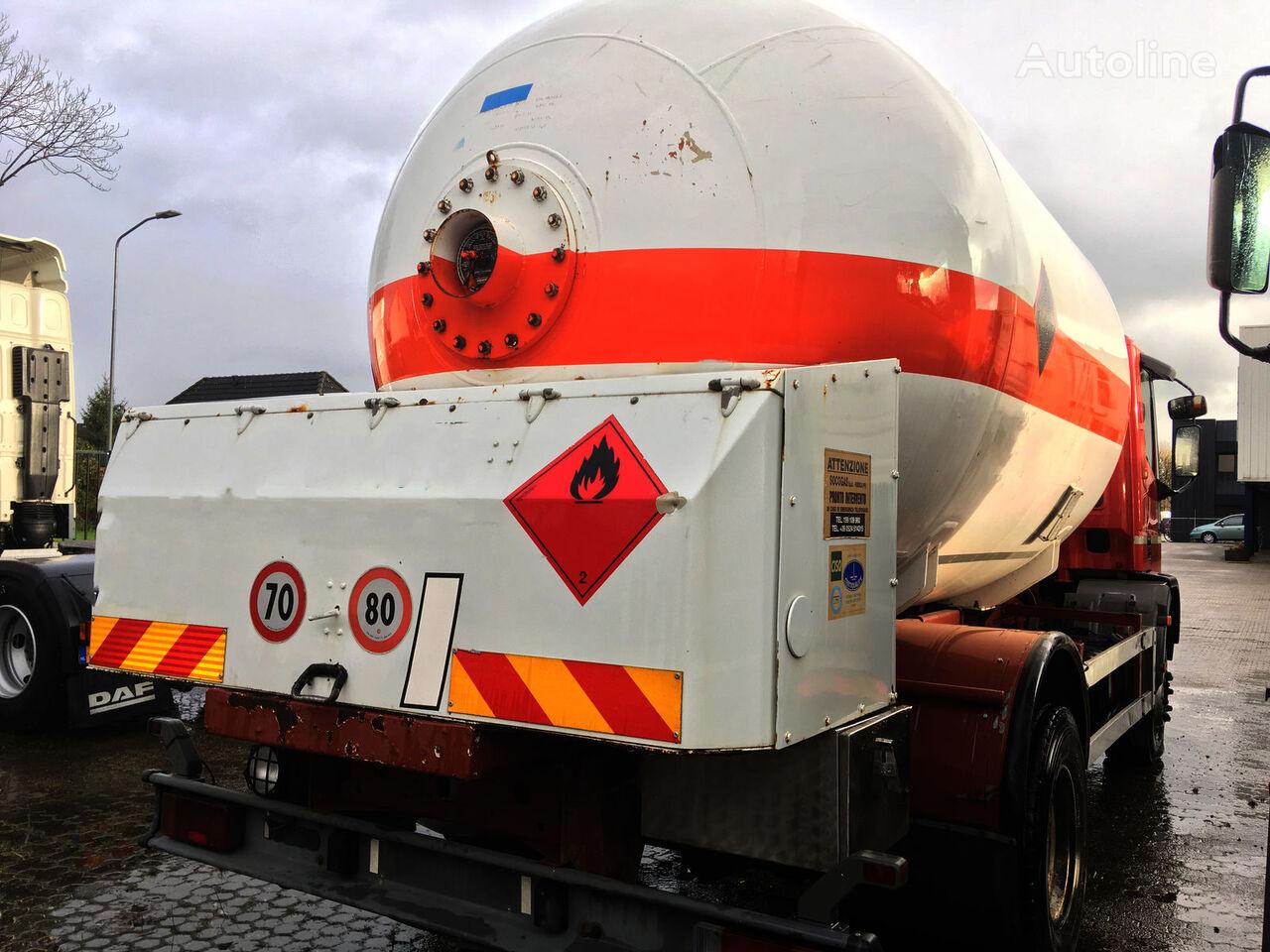 IVECO ACERBI 16.000 Gastransporter LKW