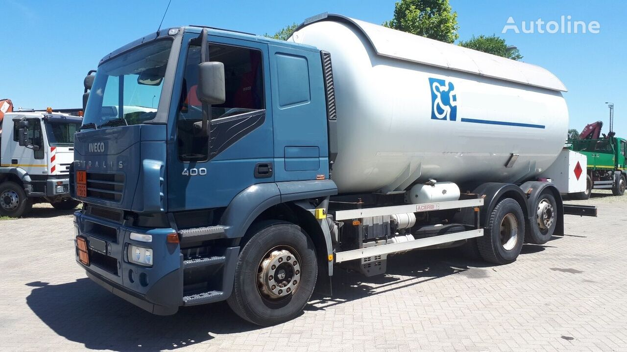 IVECO AT260S40 25m3 52000km Gastransporter LKW
