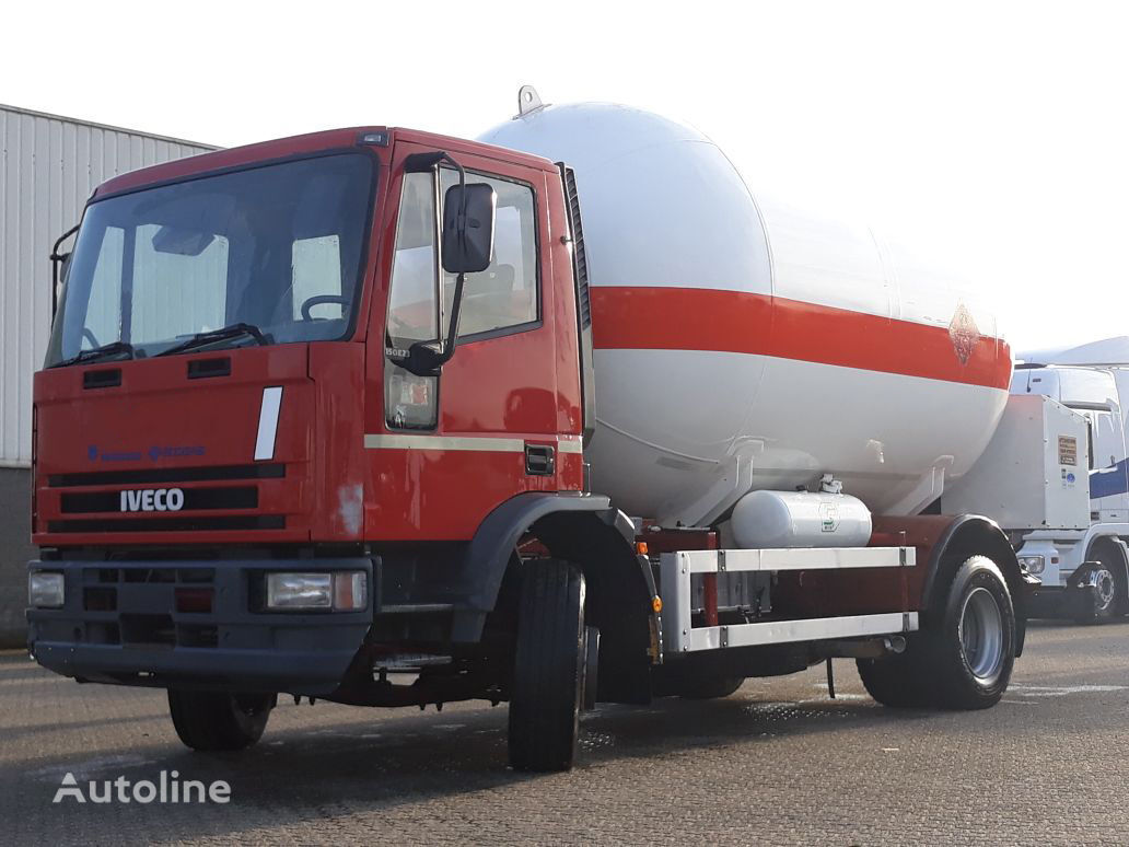 IVECO Iveco Gas - Gaz - ADR 2 - 16.000ltr - 25Bar - P25BH Gastransporter LKW