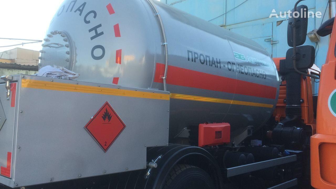 KAMAZ 43253 Gastransporter LKW