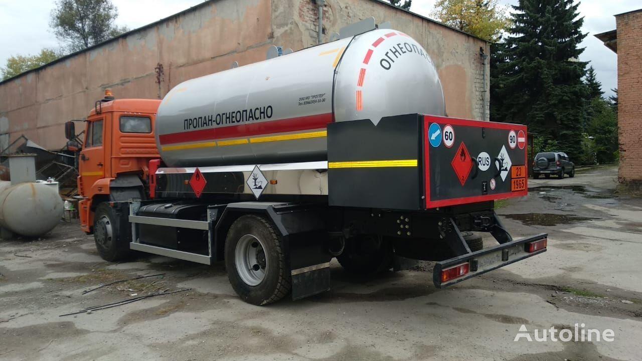 KAMAZ 45253 Gastransporter LKW