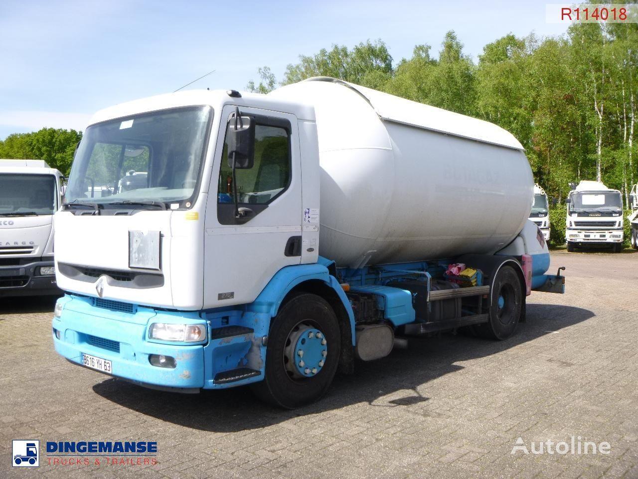 RENAULT Premium 270 4x2 gas tank 19.7 m3 Gastransporter LKW