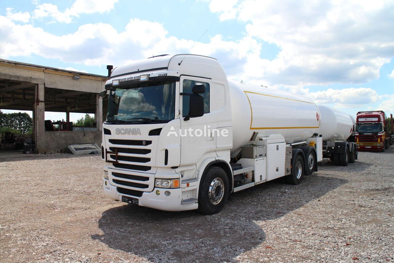 SCANIA R480, Gastransporter LKW