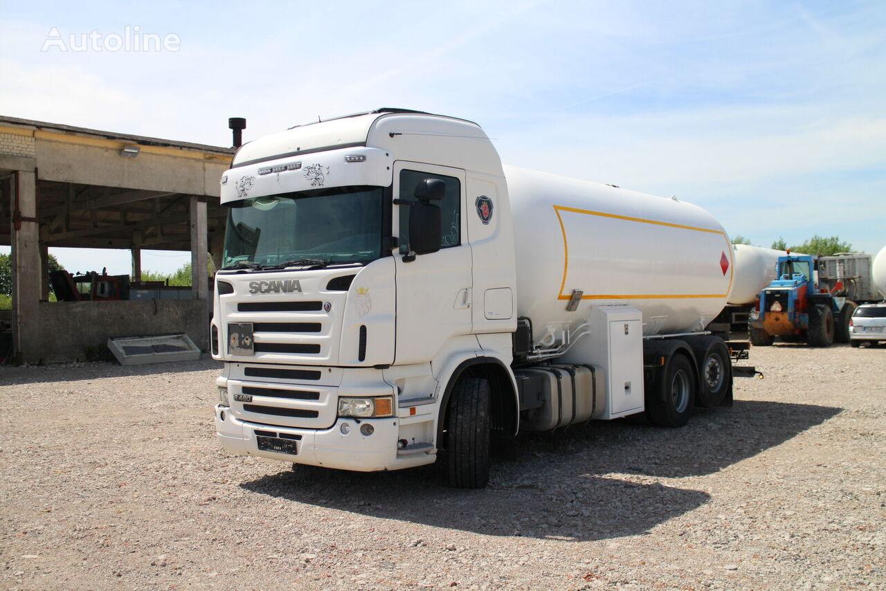 SCANIA R480 Gastransporter LKW