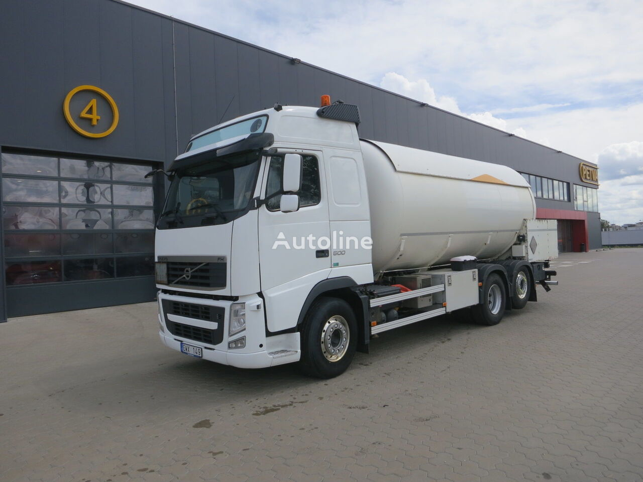 VOLVO FH 13.500, 26 000 liter. ADR Gastransporter LKW