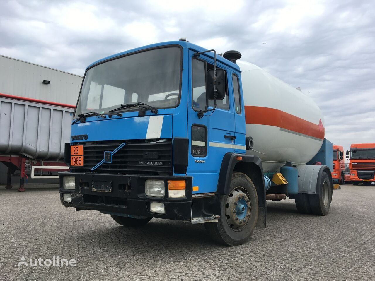 VOLVO Volvo Gas - Gaz - ADR 2 - 16.000ltr - 25Bar - P25BH Gastransporter LKW
