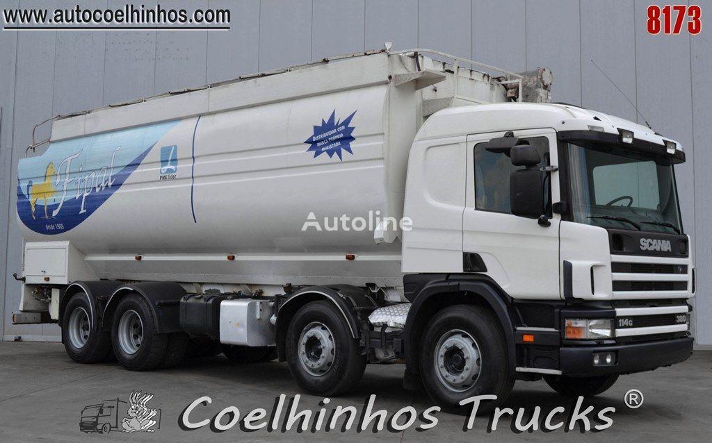 SCANIA 114G 380   Getreidetransporter LKW