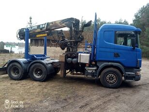 SCANIA 6X4 Holztransporter LKW
