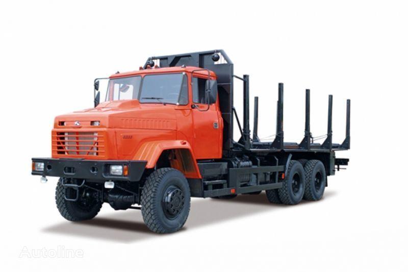 KRAZ 6233M6  Holztransporter LKW