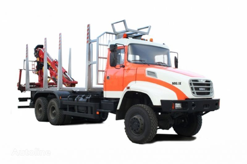 KRAZ M16.1H Holztransporter LKW