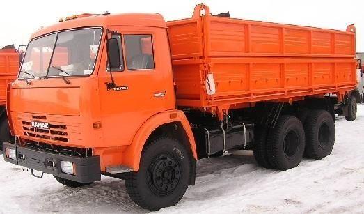 neuer KAMAZ 45143 Kipper LKW