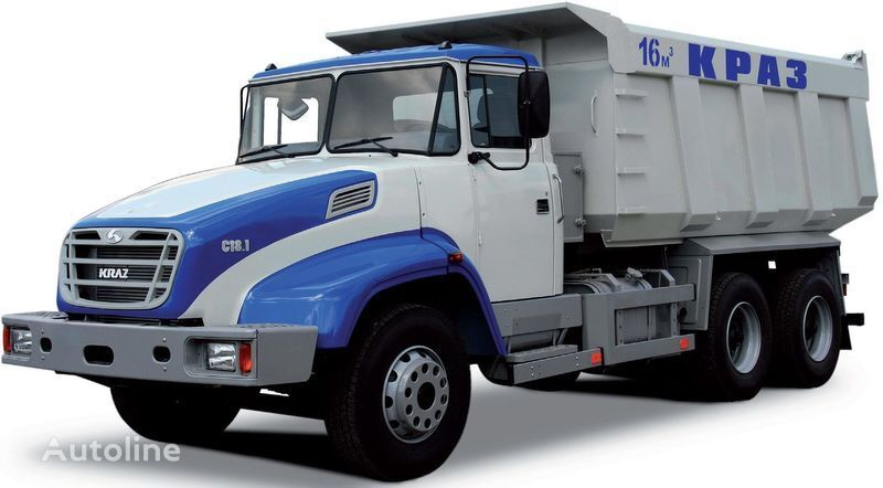 neuer KRAZ S18.1 Kipper LKW