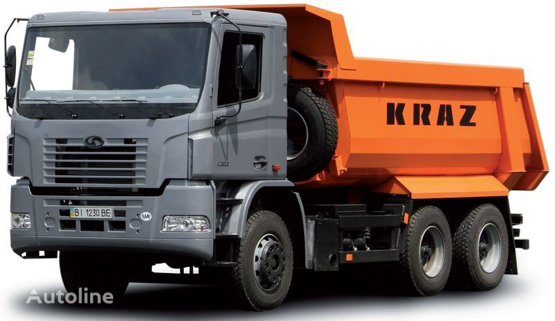 neuer KRAZ S20.2 Kipper LKW