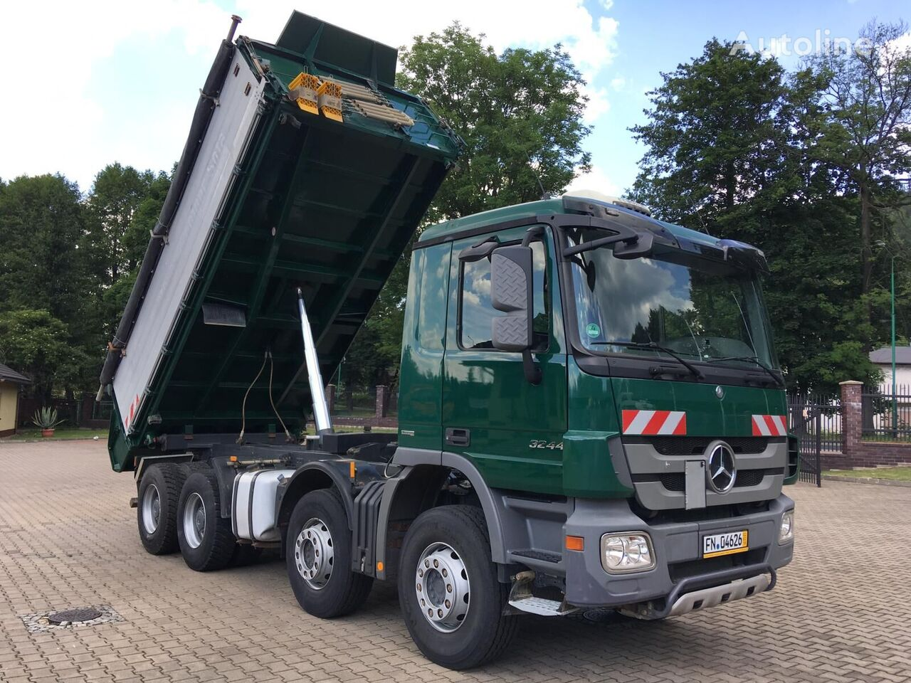 MERCEDES-BENZ 3244 ACTROS MP3 Kipper LKW