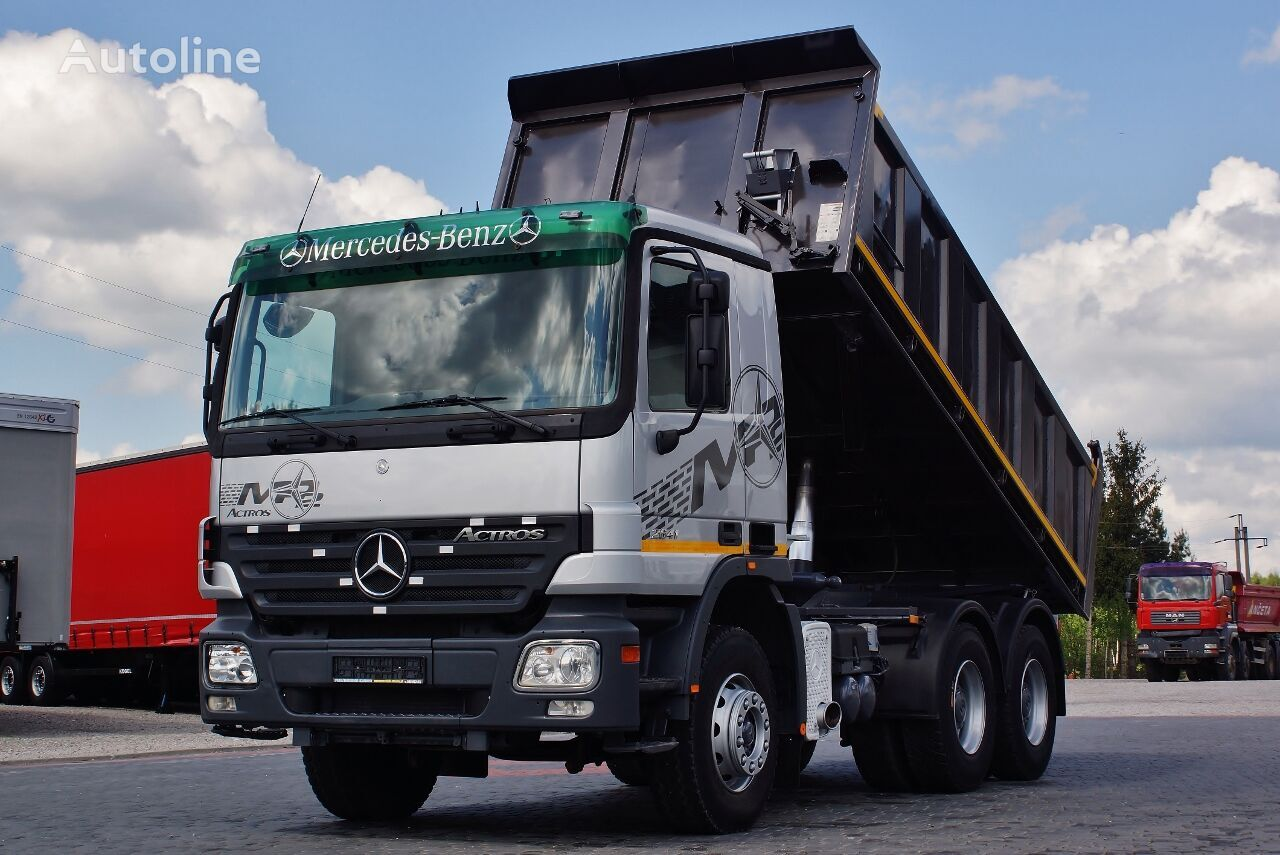 MERCEDES-BENZ ACTROS 26410 6X4 3 SIDE KIPPER EPS / GERMAN TRUCK TOP_ZUSTAND !  Kipper LKW