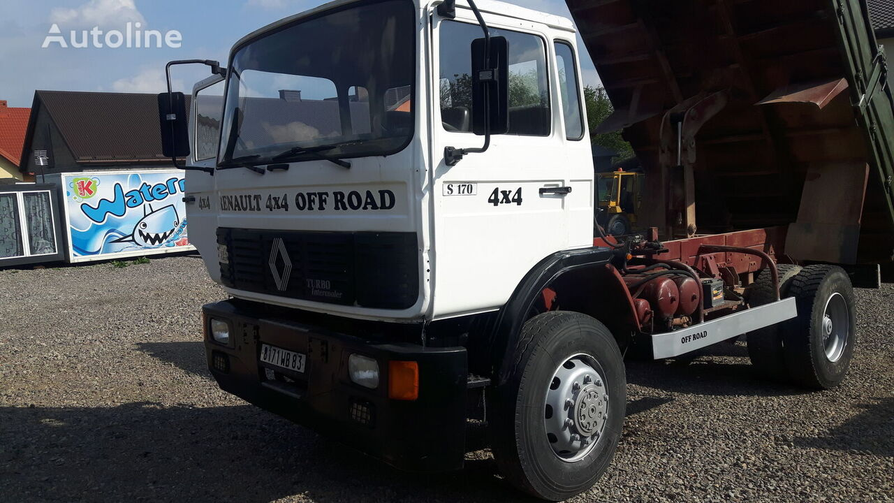 RENAULT Midliner S170 (4x4 / 3-side tipper / PERFECT / FRENCH TRUCK) Kipper LKW