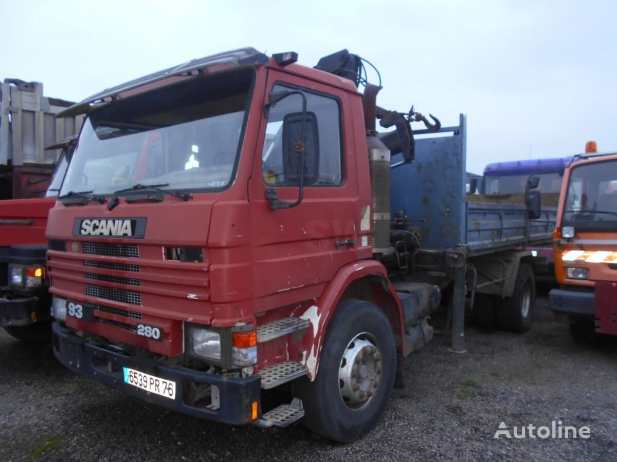 SCANIA M 93M250 Kipper LKW