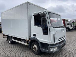 IVECO EuroCargo 75 E17 bakwagen plus laadklep Koffer-LKW
