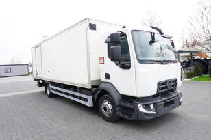 RENAULT D12 , E6 , 4x2 , Box 18 EPAL side door  , tail lift Dhollandia , Koffer-LKW