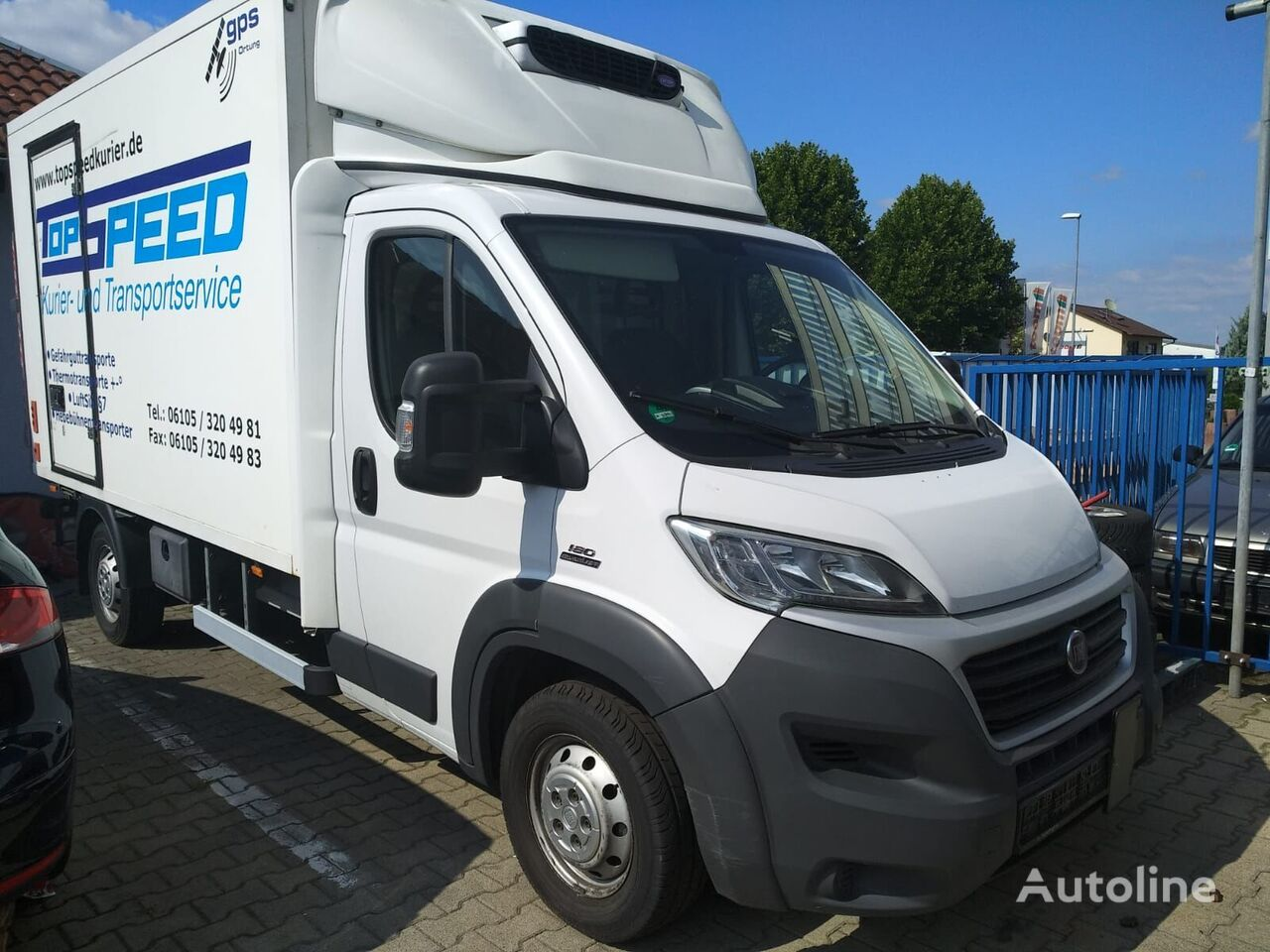 FIAT Ducato 3.0, FULL option, 2015, MAXI Kühlkoffer LKW