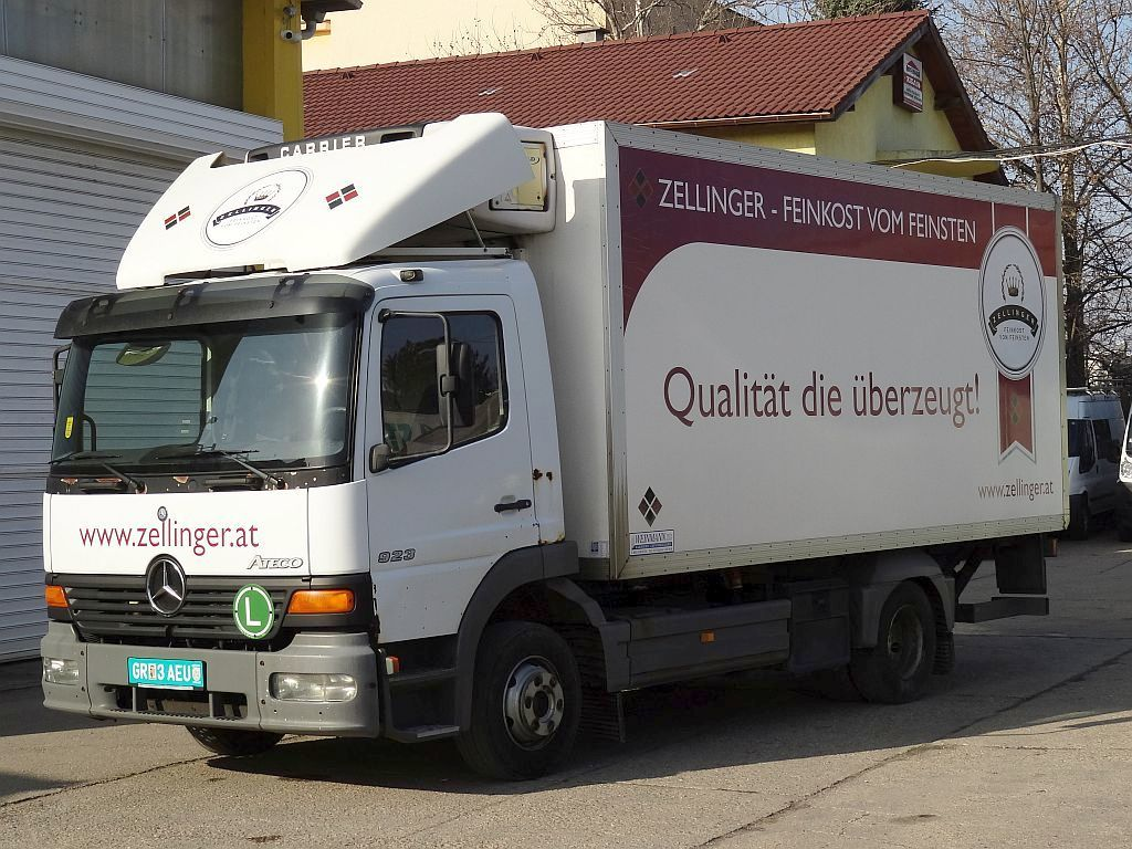 MERCEDES-BENZ Atego 923 Kühlkoffer LKW