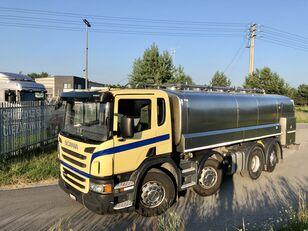 SCANIA P 400 KM 8x2 Beczka Do Mleka Sprowadzona Ze Szwajcarii Milchtankwagen
