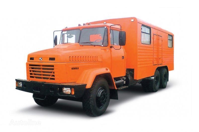 neuer KRAZ 65053 masterskaya  Militär LKW