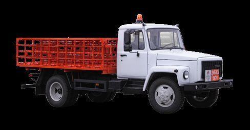 neue GAZ KT-602-01 Pritsche LKW