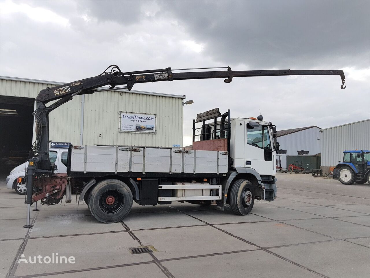 IVECO Eurotech 190E24 / Airco / Full Spring / HIAB 070 ===> 9.2m Pritsche LKW