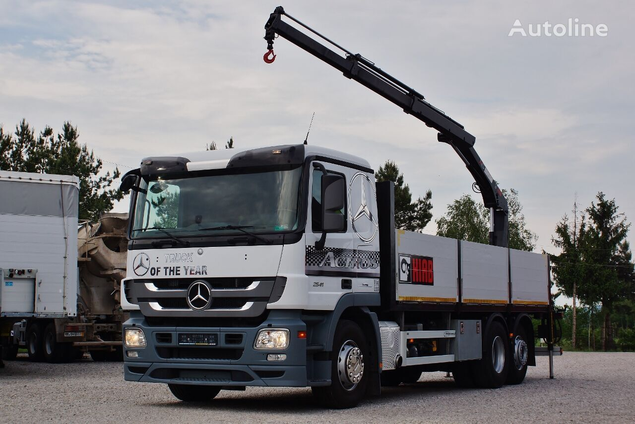 MERCEDES-BENZ ACTROS 2541 MP3  Pritsche LKW