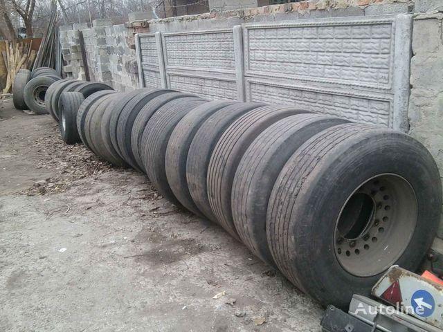 Michelin Bridgestone, Dunlop, Sava  385/65 R 22.50 LKW Reifen