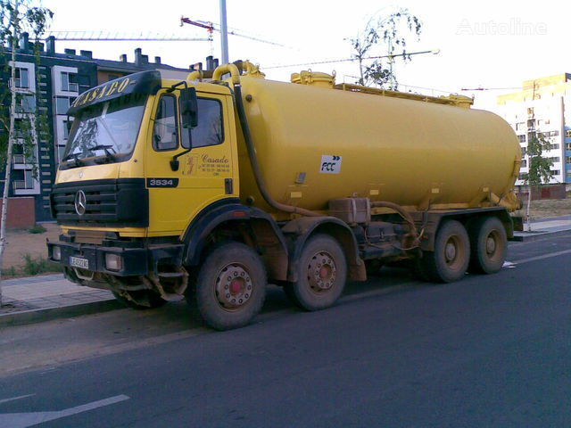 MERCEDES-BENZ 3534 K Tankaufbau LKW