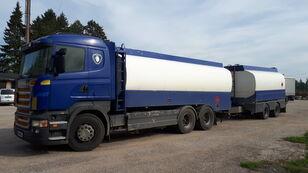 SCANIA R420 6x2 fuel tank Tankfahrzeug + Tankwagen für Heizöl und Diesel