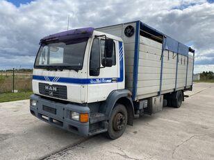 MAN 14.224 4x2 Animal transport Viehtransporter LKW