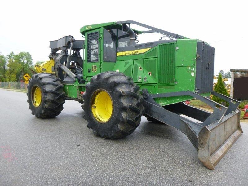 JOHN DEERE 648H  Forsttraktor