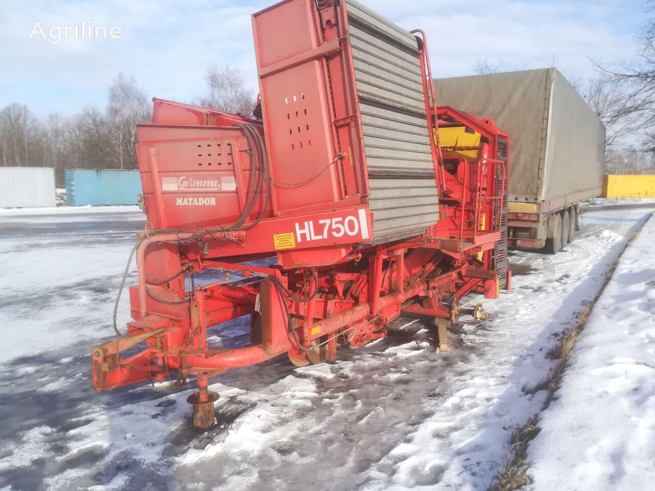 GRIMME HL 750 Kartoffelvollernter