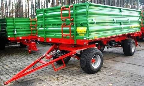 neuer PRONAR Przyczepa dwuosiowa  T672 8 t  Landwirtschaftliche Anhänger