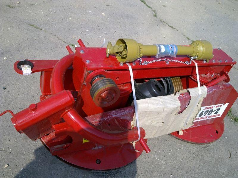 neue Rotornaya kosilka Z-169, Z-069, Z-173 pr-vo Polsha Mähwerk