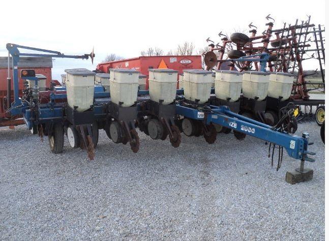 KINZE 2000 interplant 2000 kukuruza/soya/podsolnuh Mechanische Einzelkornsämaschine