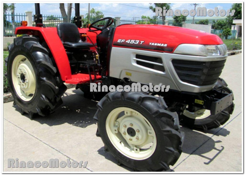 YANMAR GR453DT Radtraktor